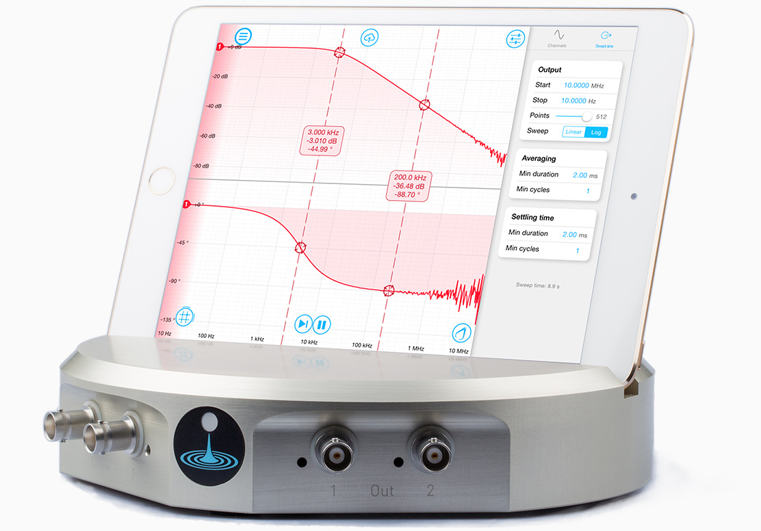 Bode Analyzer with Moku:Lab