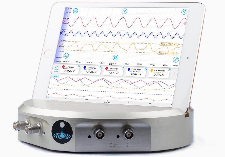 Oscilloscope with Moku:Lab