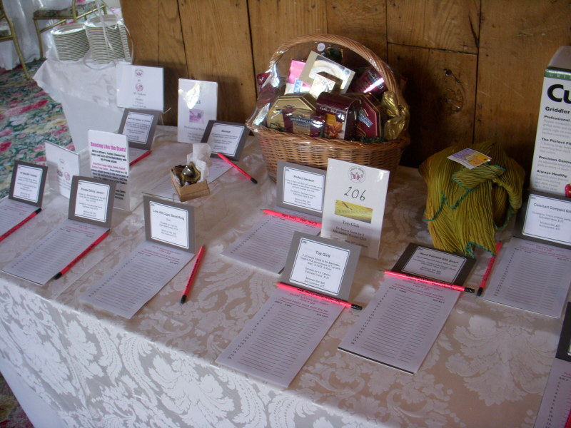 effective silent auction table set up  u2014 charity auctioneer jim miller