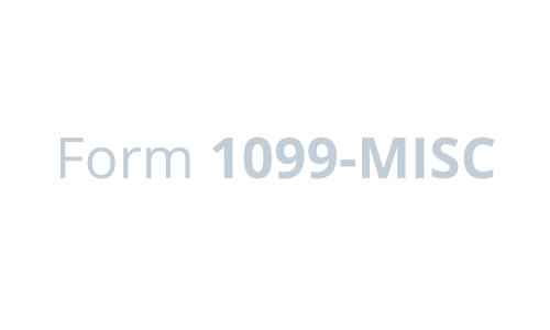 Form 1099 MISC.