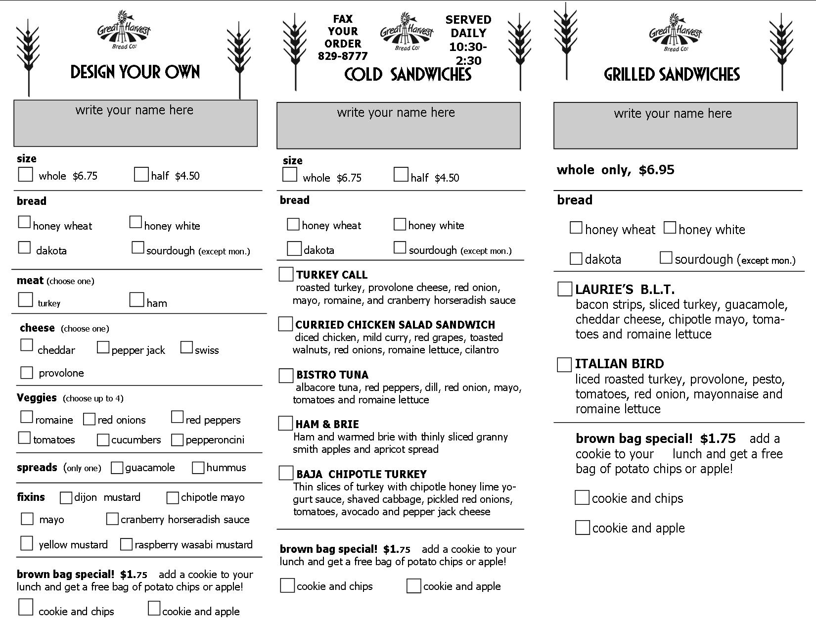 It's just a picture of Canny Printable Chipotle Menu