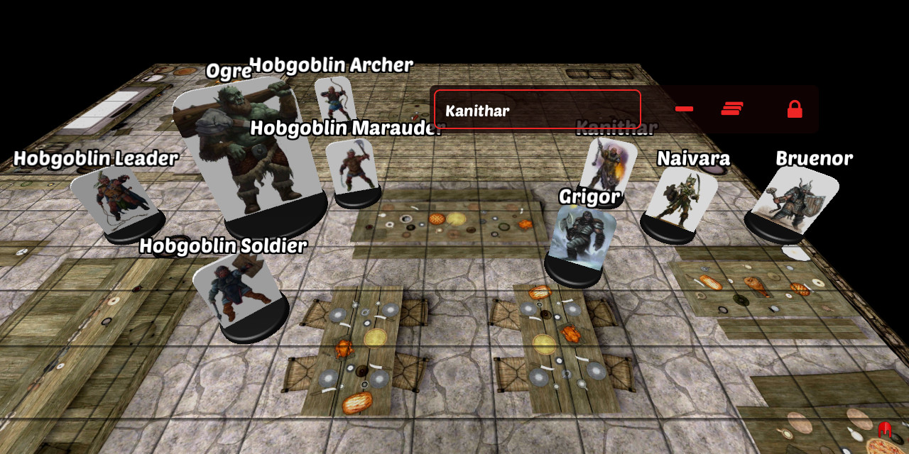 Remove All Miniatures on 3D Virtual Tabletop