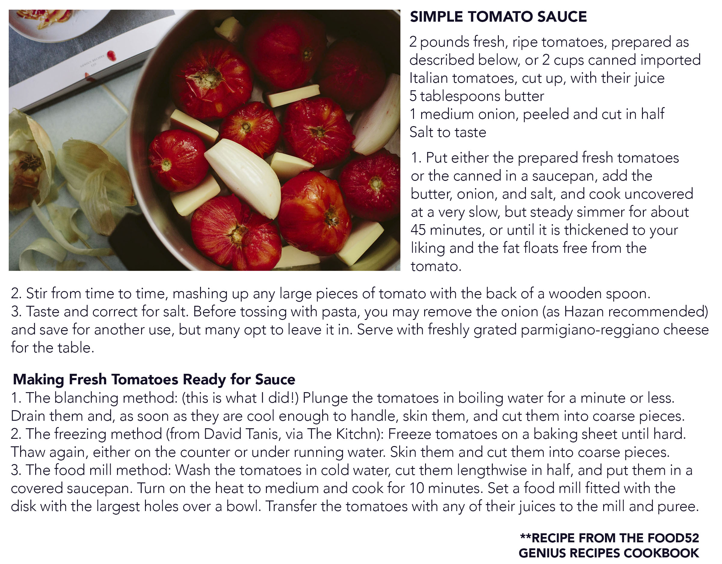 Simple tomato sauce cora louise click here to download a pdf version of this recipe forumfinder Image collections