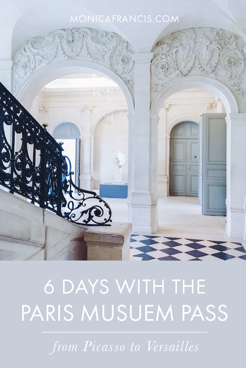The Six Day Paris Museum Pass: From Picasso to Versailles