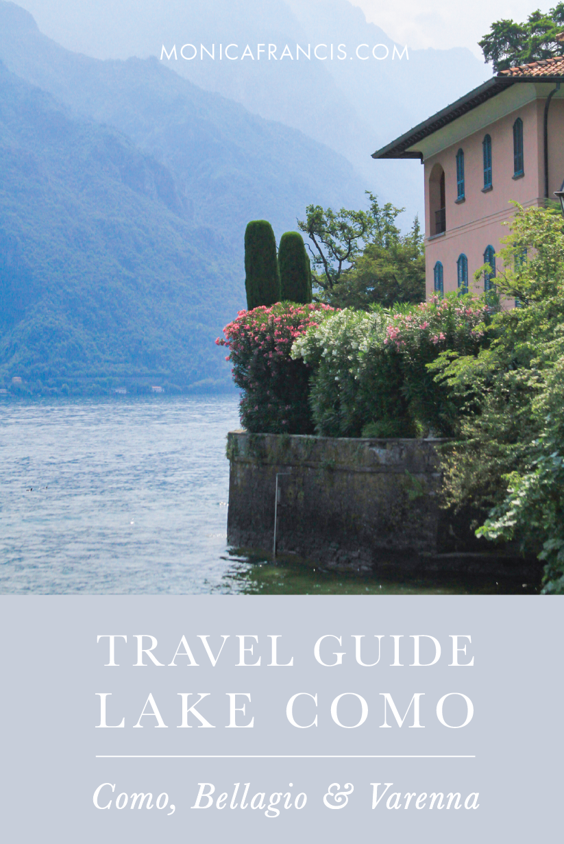 A Travel Guide to Lake Como, Italy | Villas, Restaurants, and things to do in the Northern Italy Lake District | Bellagio, Varenna, and Como | Where to Stay in Bellagio, Italy | Where to Eat and What to See Around Lake Como