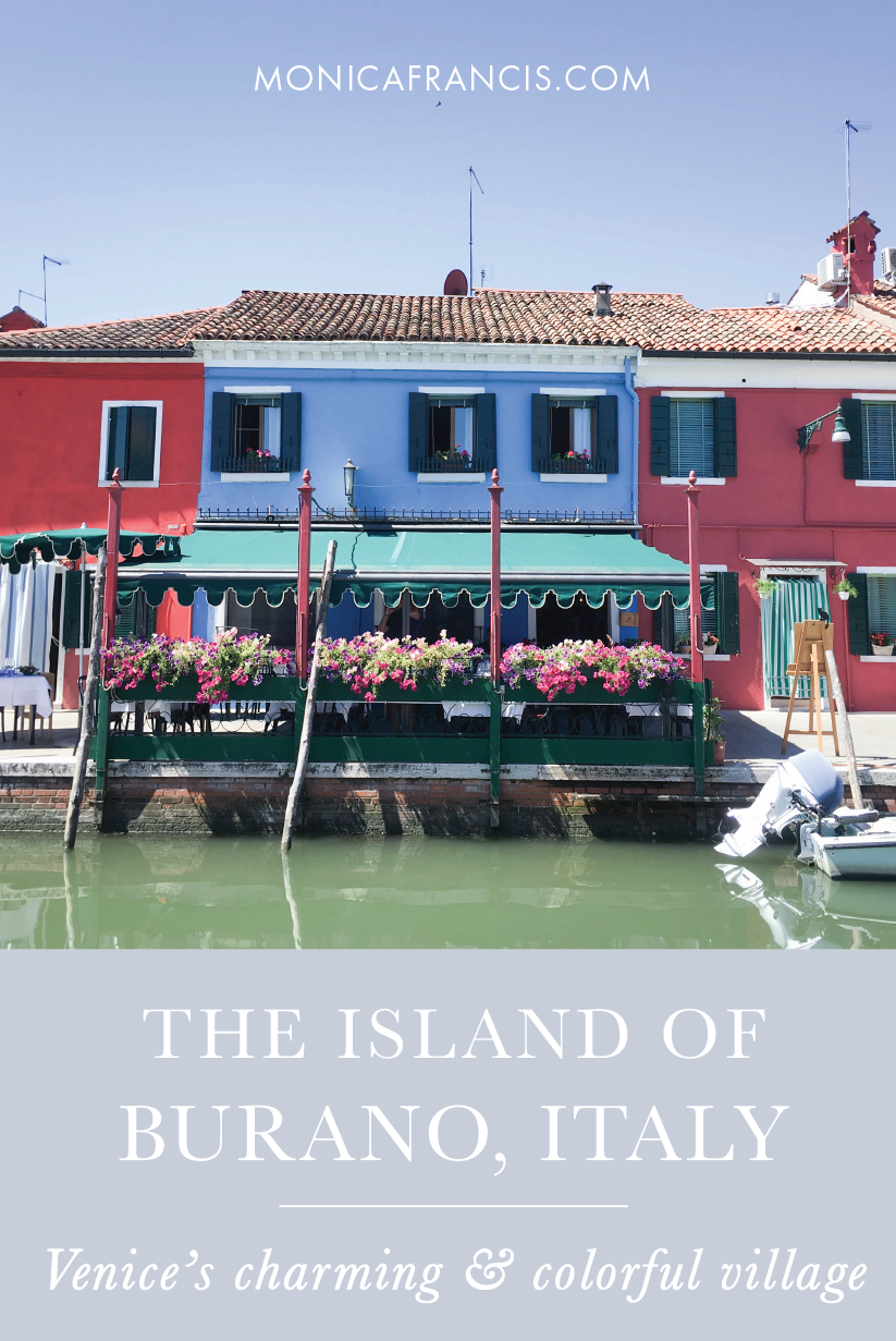 Burano Island, Italy | A Travel Guide and Free Map to the Town of Lace and Colorful Houses | The Best Day Trip from Venice | Things to Do | Where to Eat | What to See | How to Get to Burano