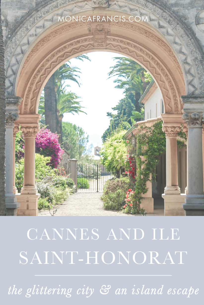 Cannes and Ile Saint-Honorat, France | A travel guide to the glittering city of the French Riviera, and a peaceful escape to the islands. | Things to Do | Abbaye des Lerins Wine | How to Get to Ile St. Honorat from Cannes