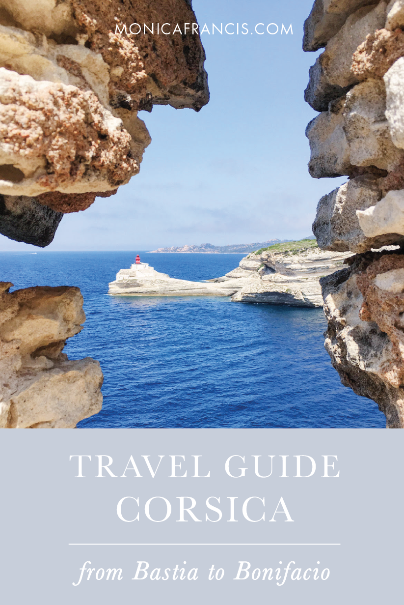 Travel Guide to Corsica, France | What to do, see, and eat on the island. | Bastia, Bonifacio, Corte, and the beaches of Porto Vecchio.