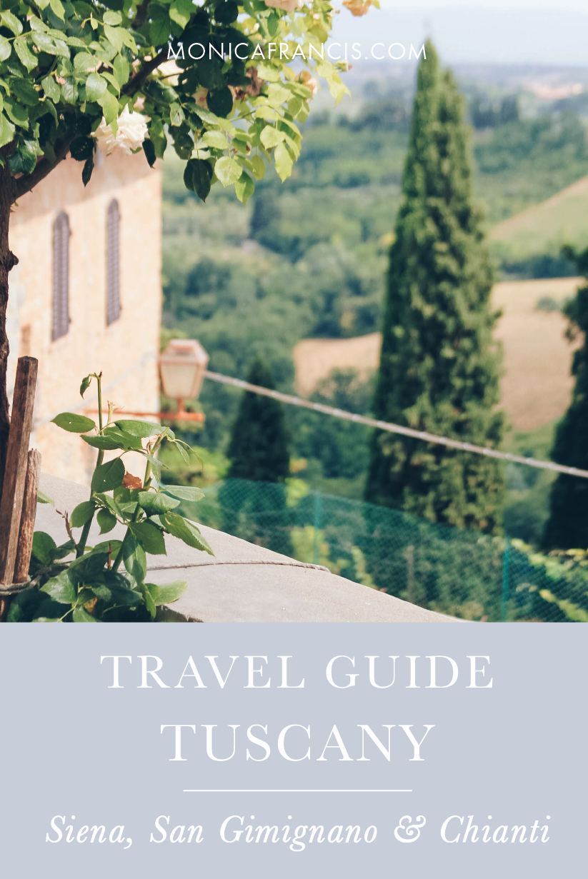 Tuscany Travel Guide | Exploring the Tuscan countryside, Siena, San Gimignano, and Chianti | Day Trips from Florence