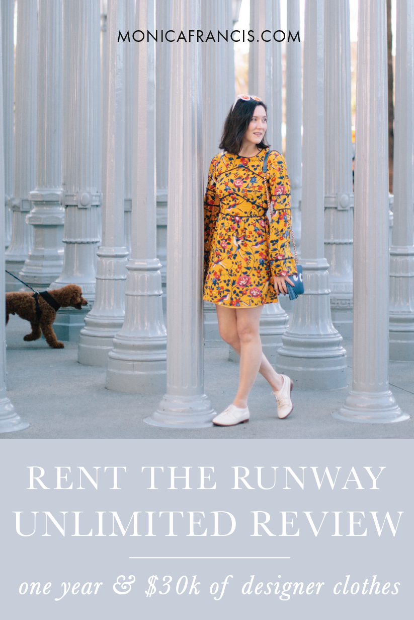 A Year of Rent the Runway Unlimited | What to expect, from prices and shipping time to value and secret hacks. | My review and best advice after twelve months of the designer closet-sharing subscription.| How I wore over $30K in designer clothes this year, my favorite hacks and a special discount.