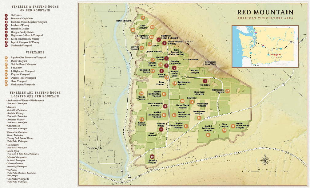 Red Mountain Vineyard Map Trade Tools — .redmountainava.com