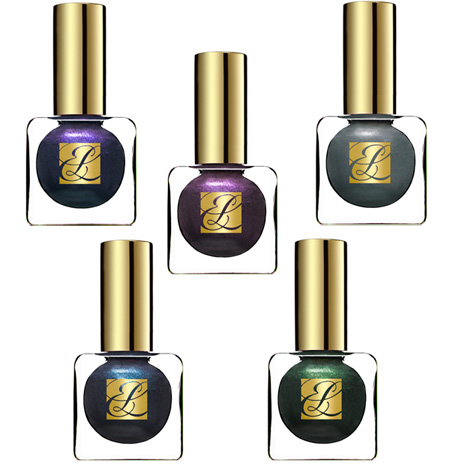 Estée Lauder Pure Color Beyond Black & Metal Mania Nail Lacquer