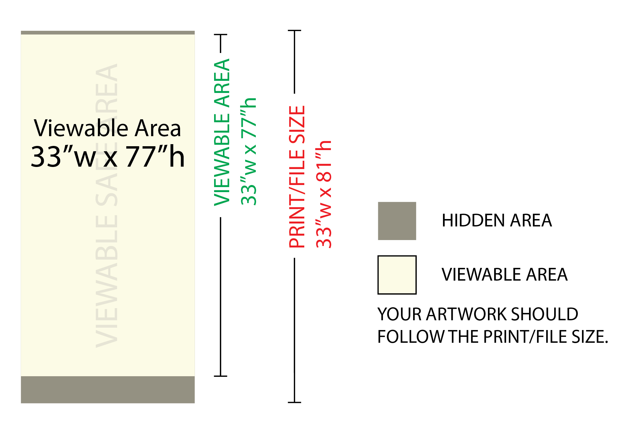 Retractable Banners AM Printing Graphics - Retractable banner template