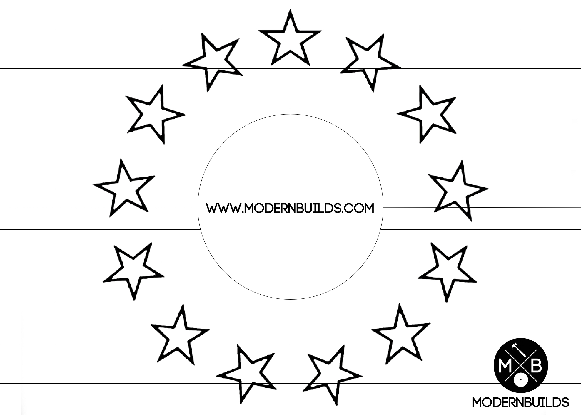 It is a picture of American Flag Star Stencil Printable in freedom star