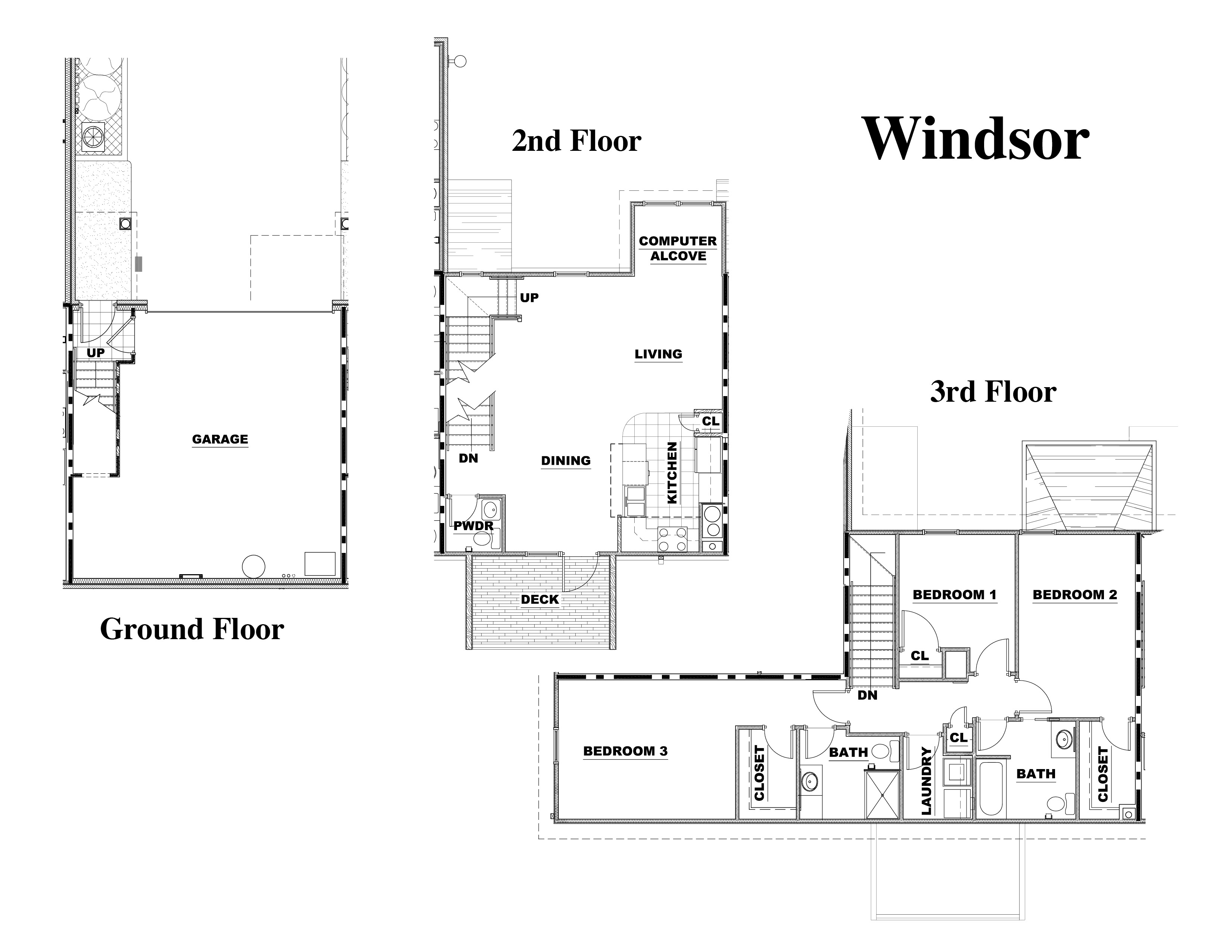Townhome Floorplans Knoxville Tn The Villas Of