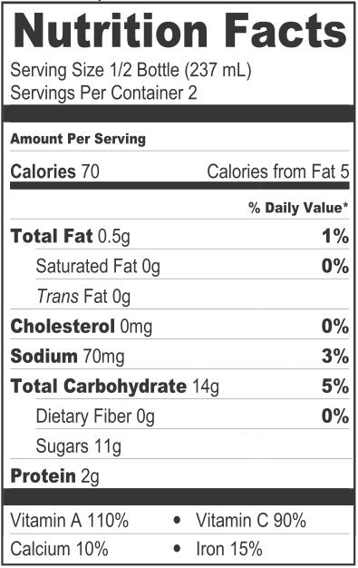 Menu & Nutrition — Zest Juice Co