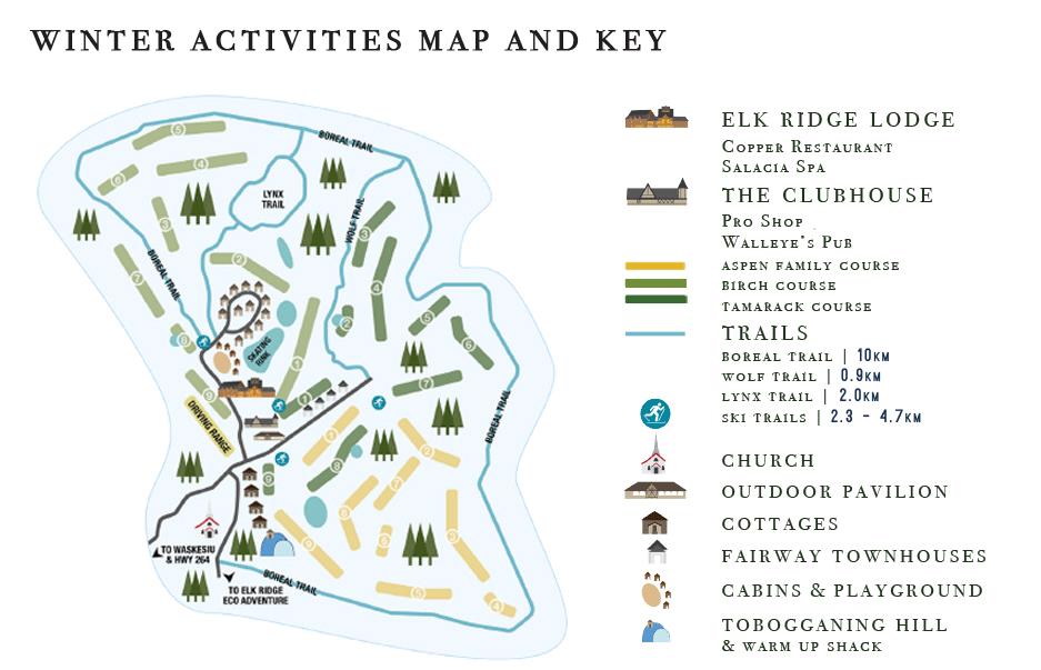 Sledding Elk Ridge Resort Waskesiu Lake Area Hotel