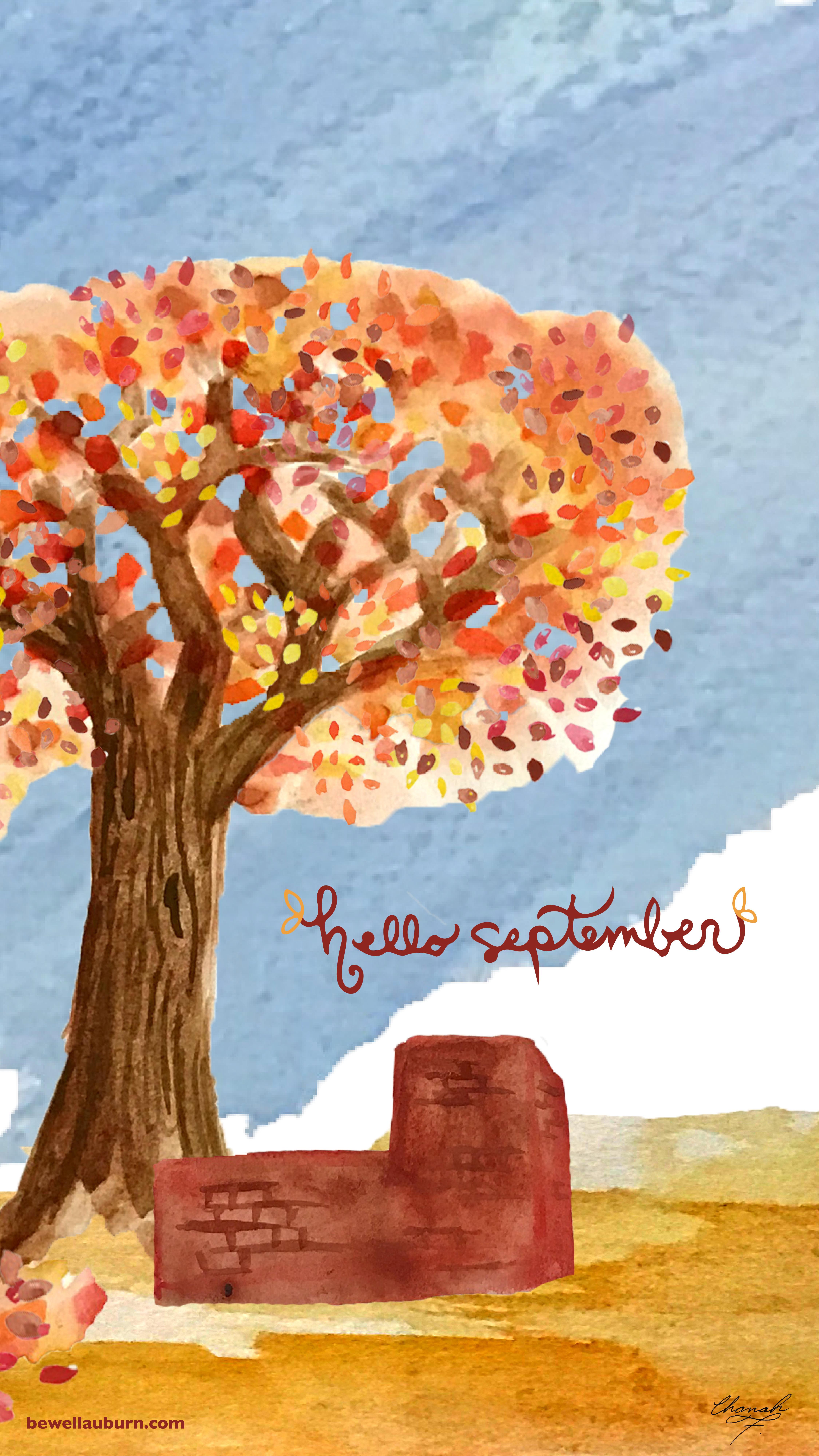 Hello September Be Well