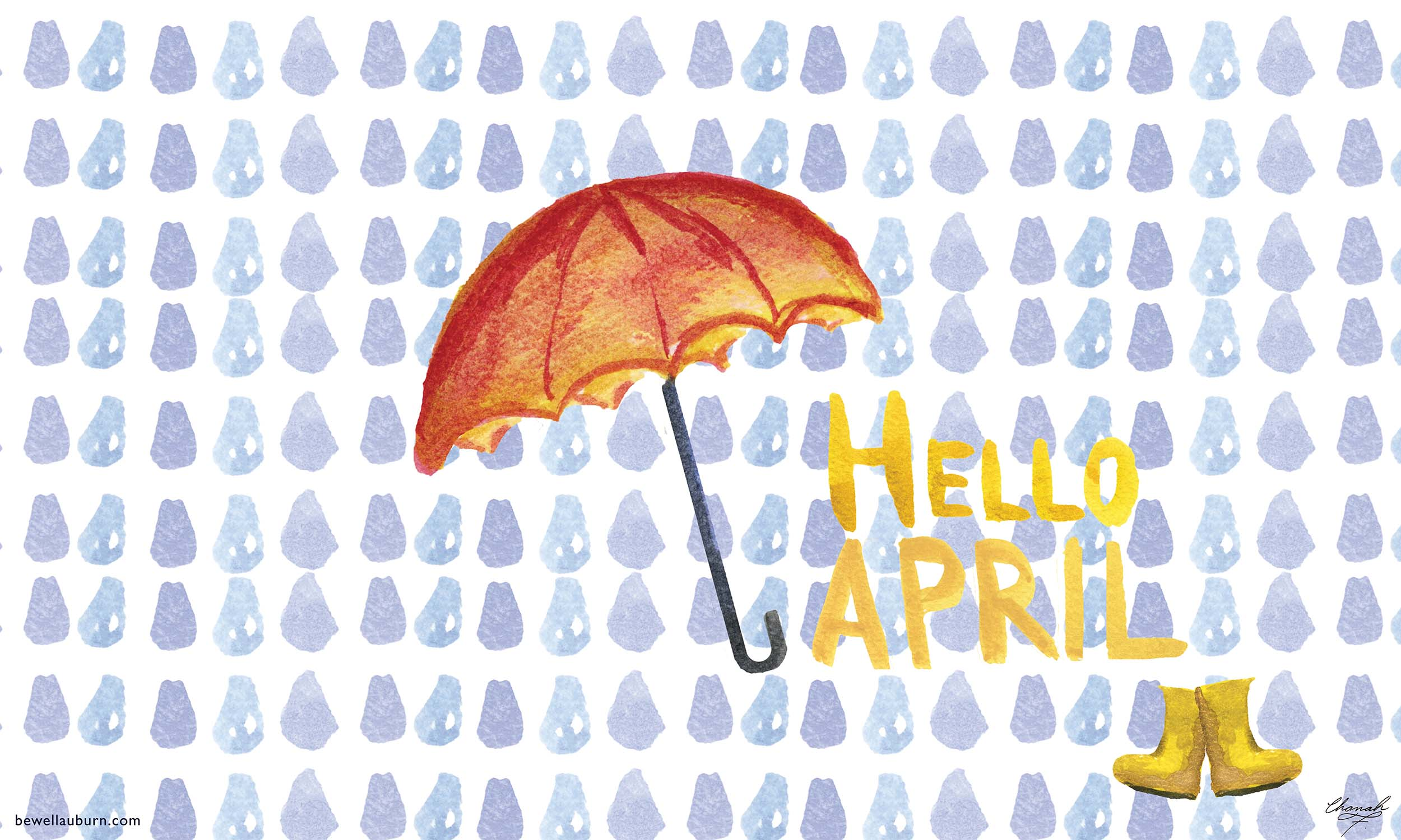 Hello April Be Well