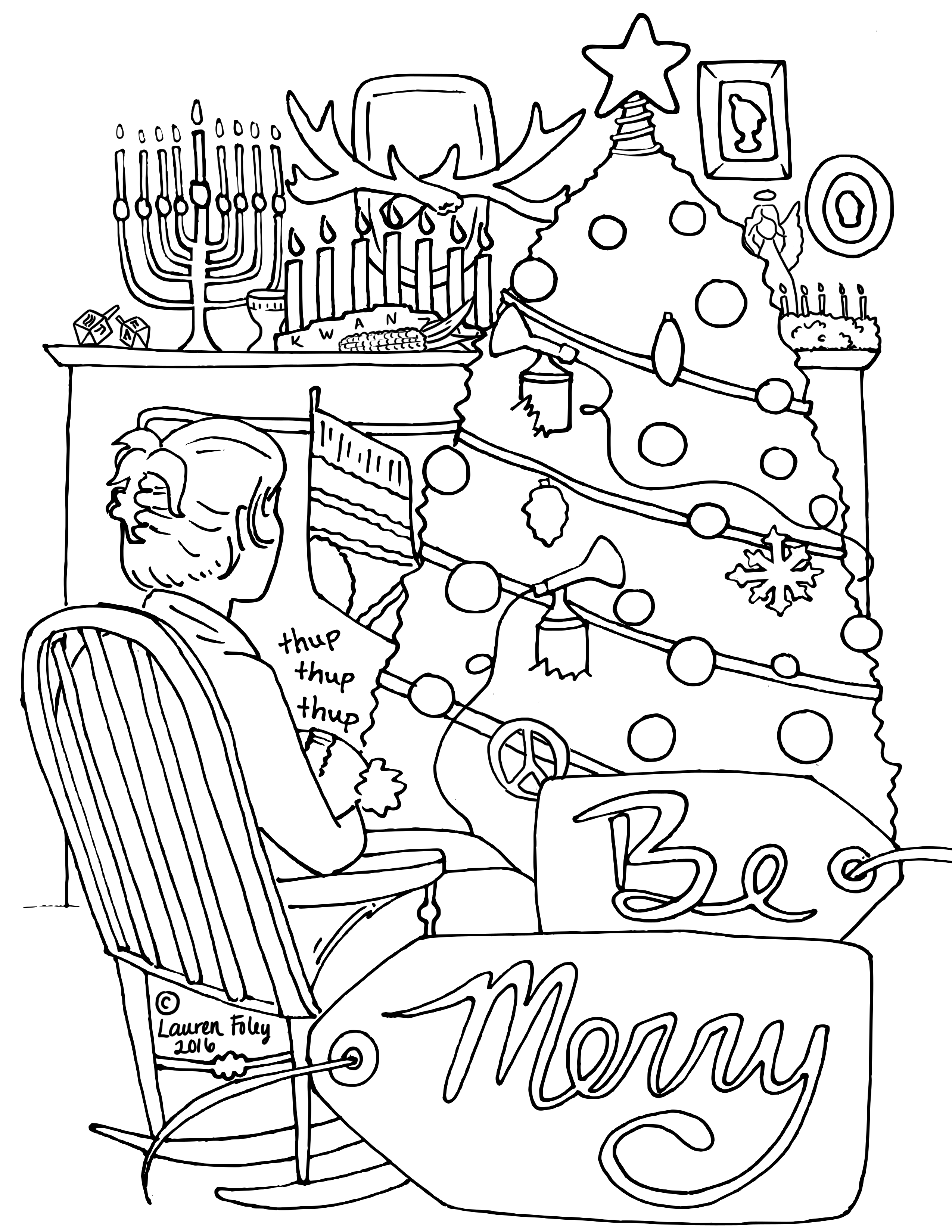 Coloring Pages — Wool Pickle