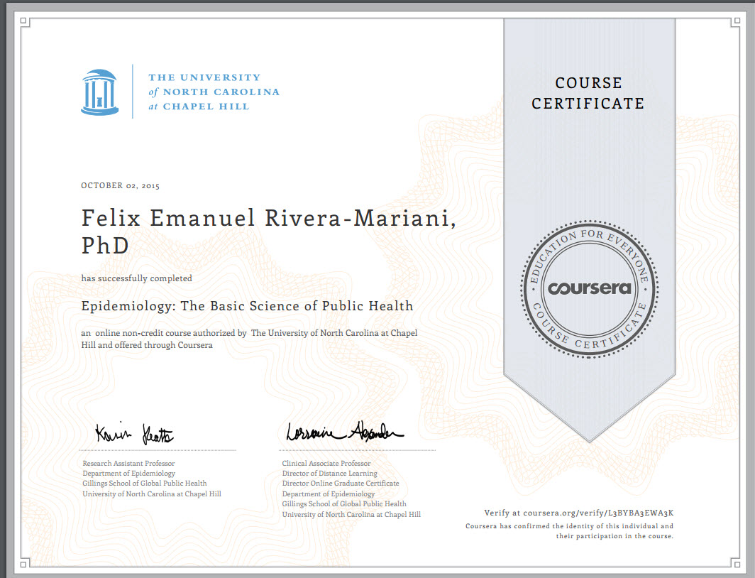Dr rivera marianis credentials flix e rivera mariani phd of north carolina on coursera yadclub Images