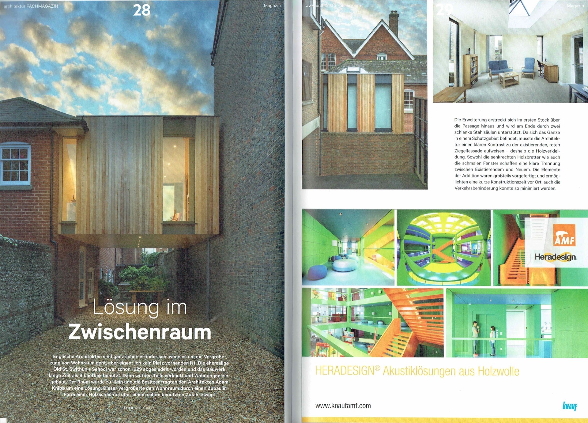 Publications — Adam Knibb Architects | Contemporary Design in Winchester
