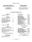 Craft Beer Menu