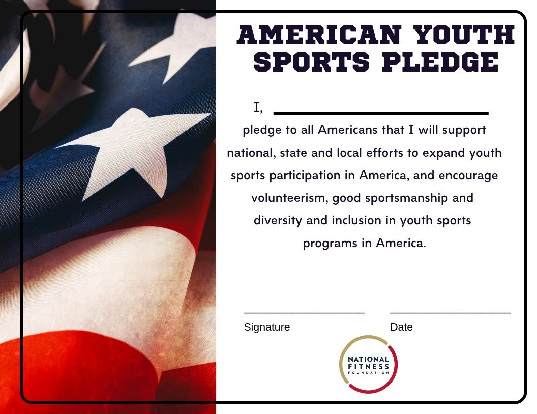 American Youth Sports Pledge — National Fitness Foundation