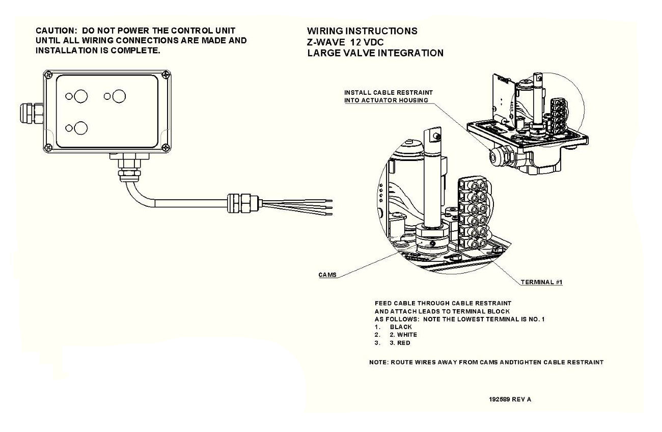 large valve wiring diagram