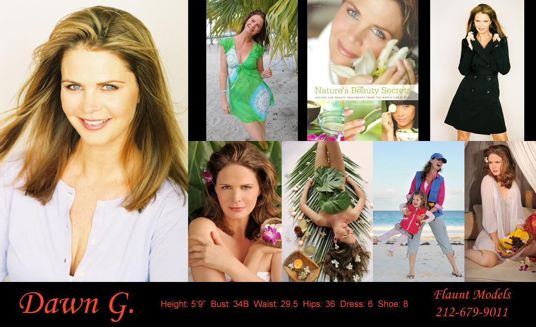 Dawn G  — Flaunt Model MGMT