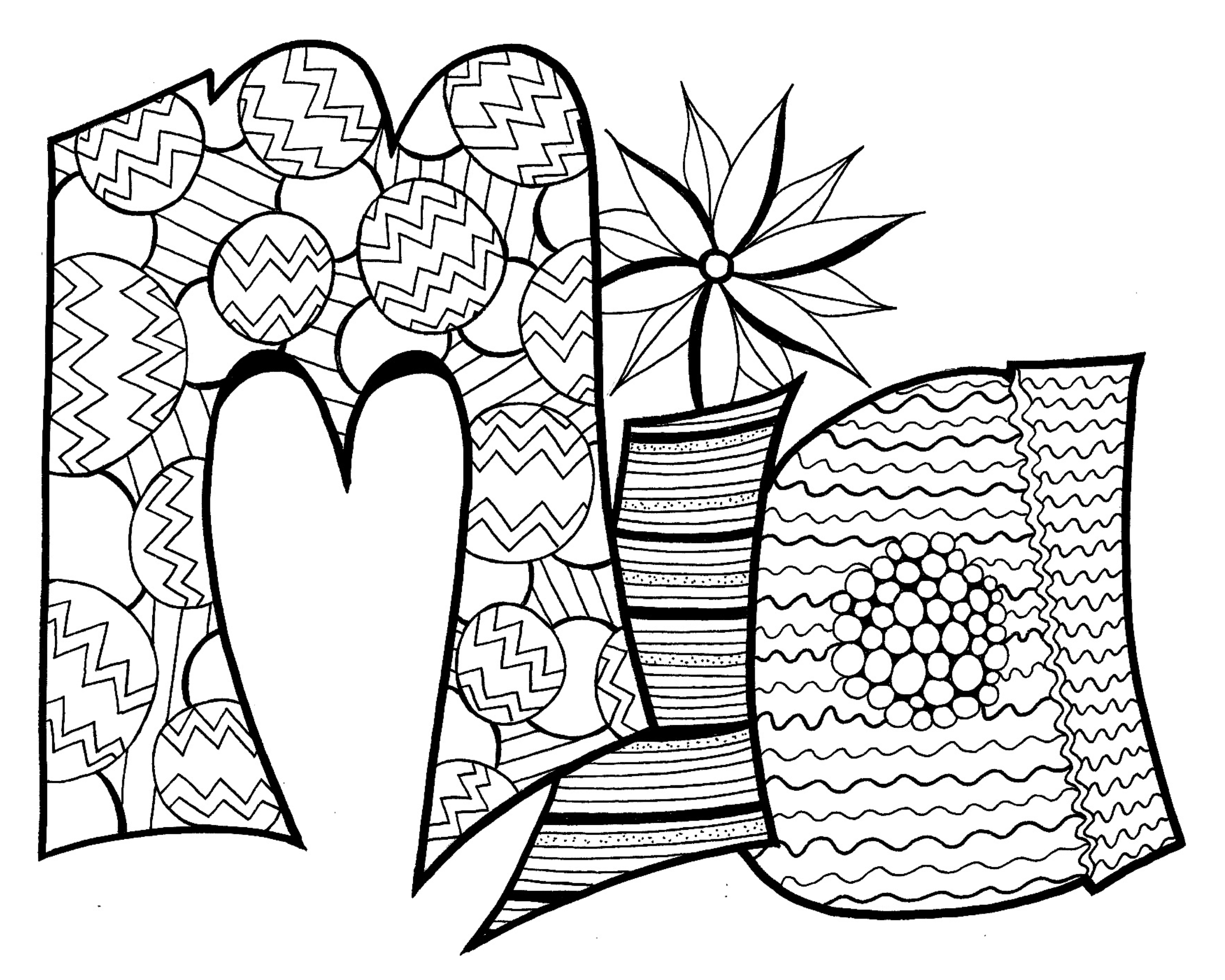 Your Free MIA Printable Coloring Page