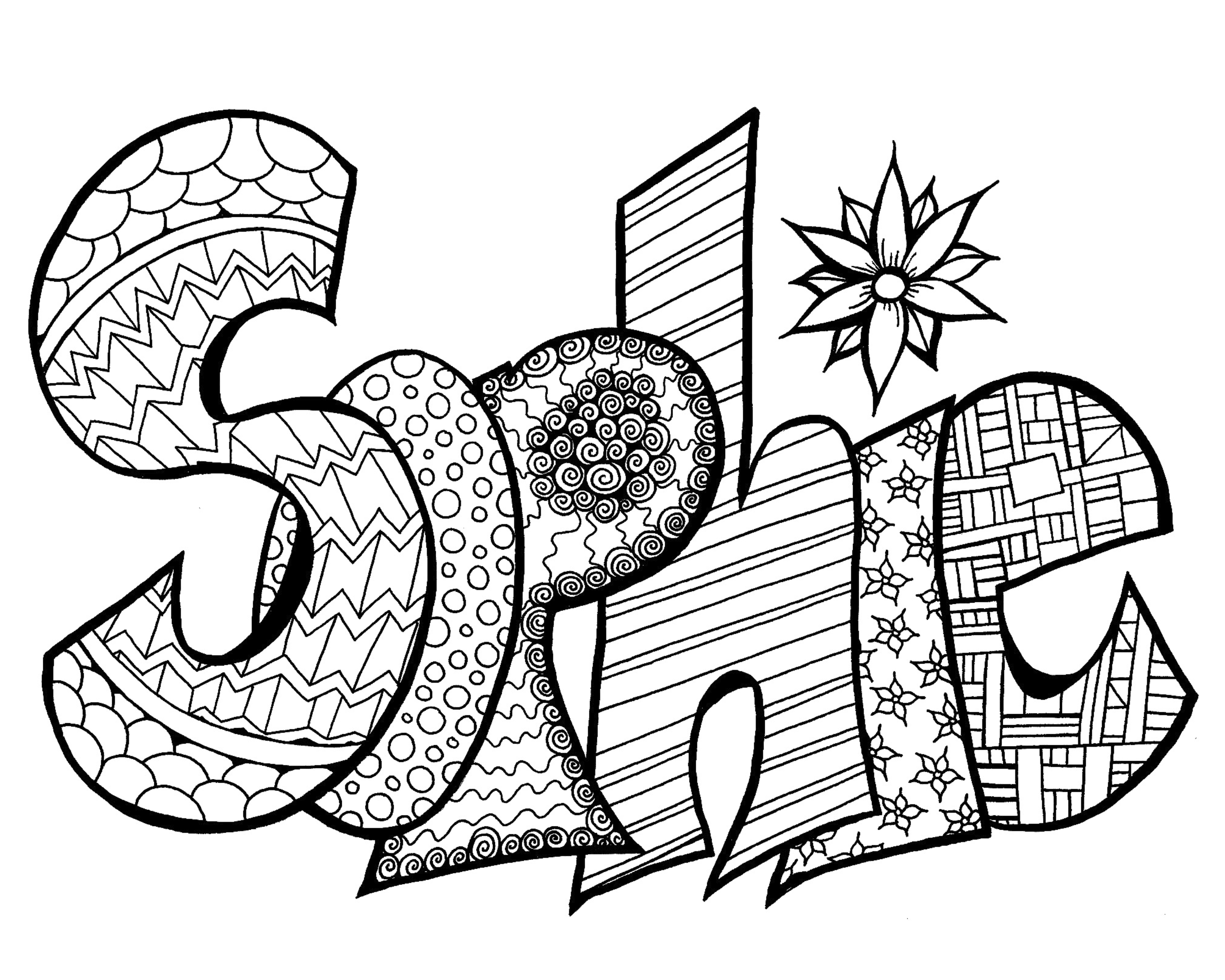Your Free Printable Coloring Page