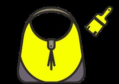 Melbourne handbag recolouring or colour change