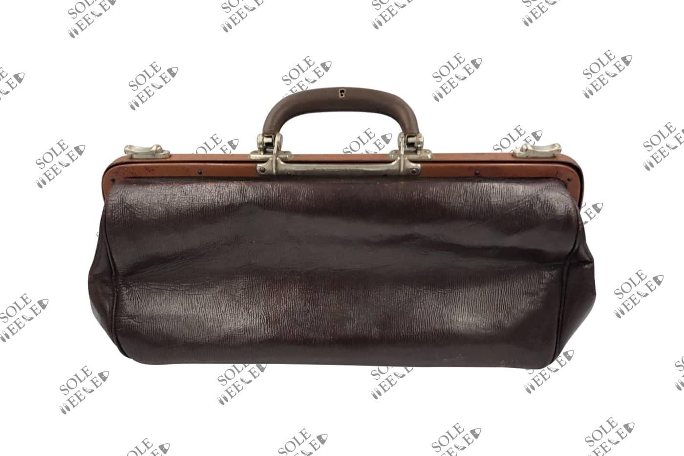 Vintage Briefcase Handle Repair