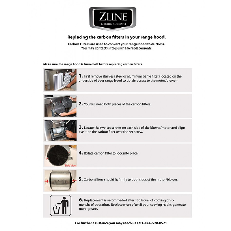 Carbon Filter Ductless Kit — ZLINE Kitchen