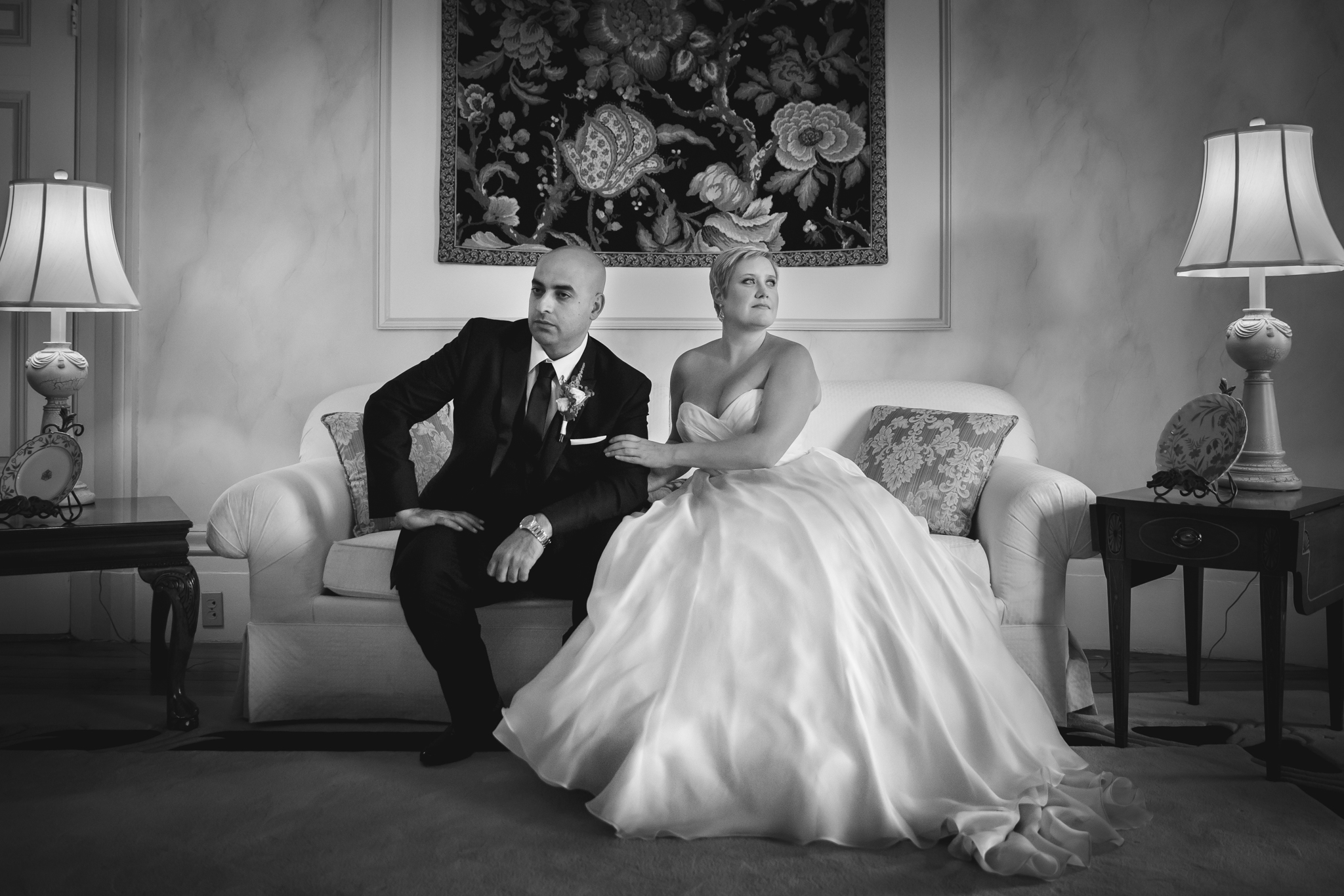Boston Wedding Portrait