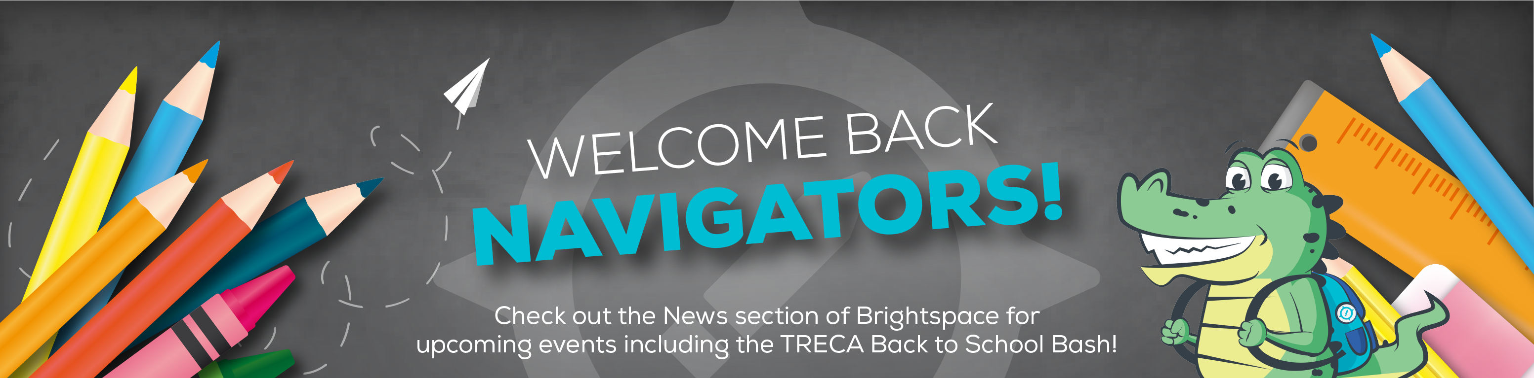 Welcome Back! Login and check out news for info and events.