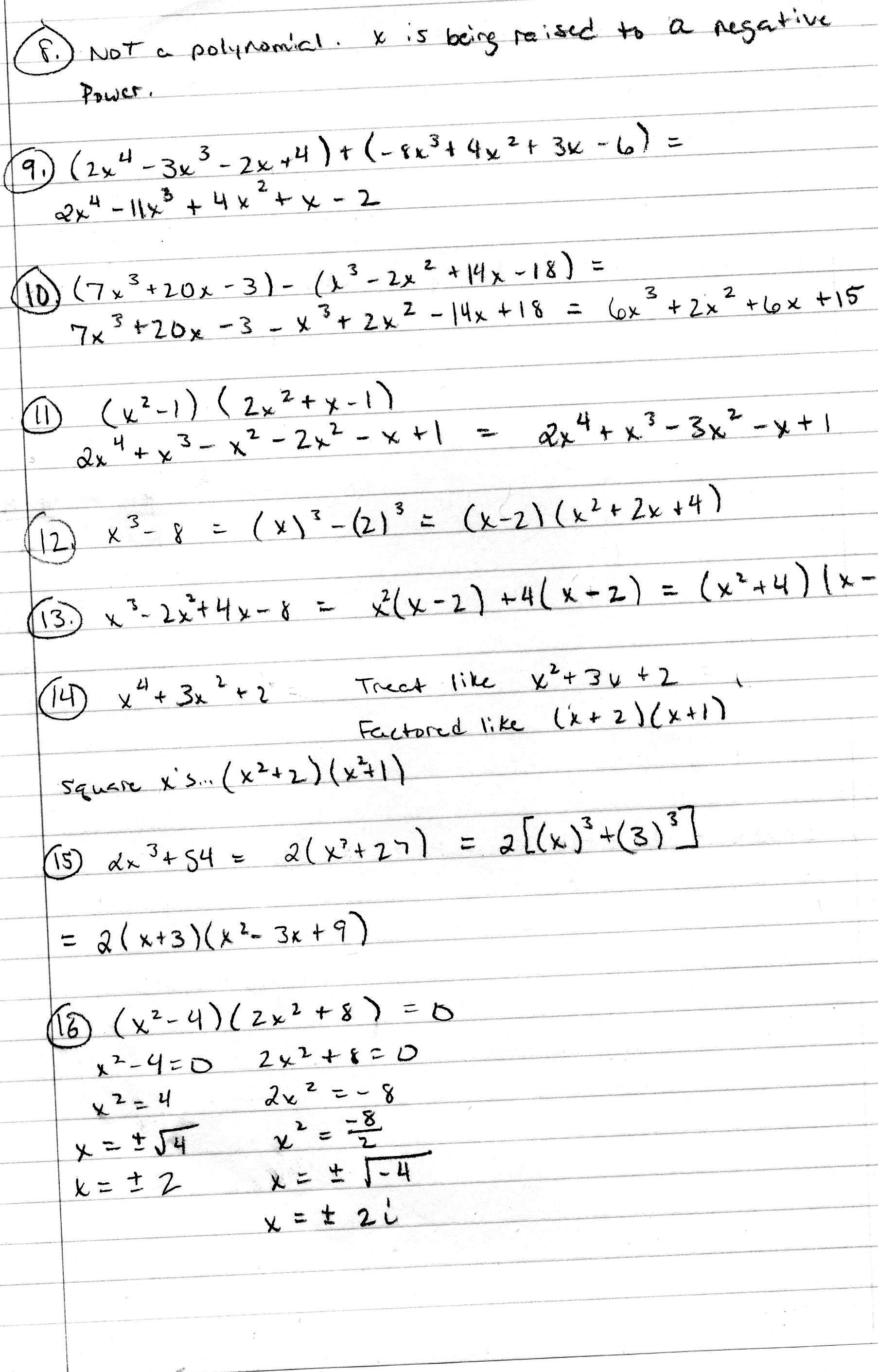 Algebra 2 PDFs Mr Deibels Class – Algebra 2 Worksheets with Answer Key
