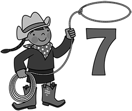 Counting Cowgirl