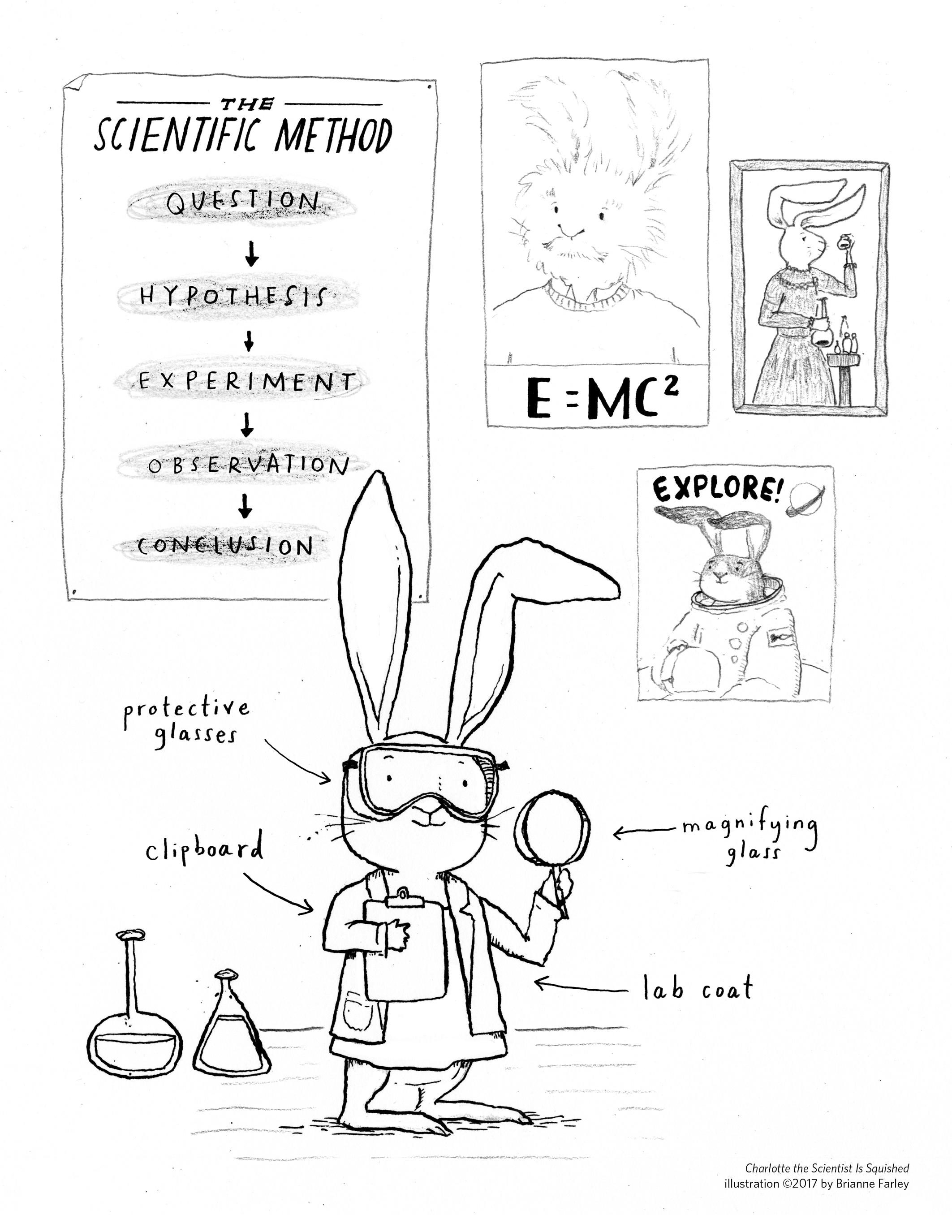 scientific method coloring pages