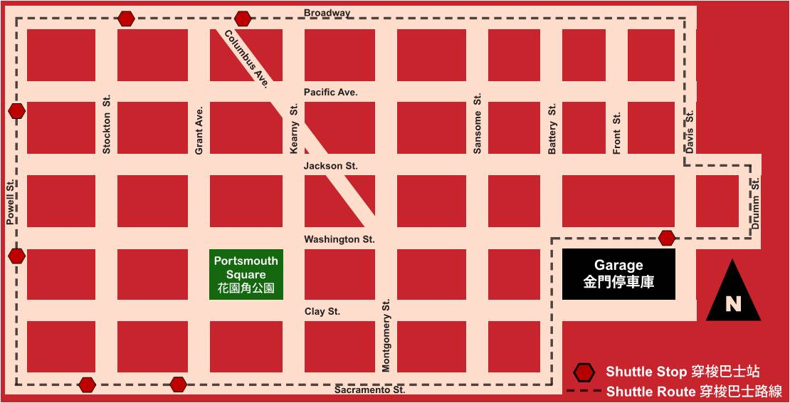 Chinatown parking where to find it and other options for Andy s chinese cuisine san francisco