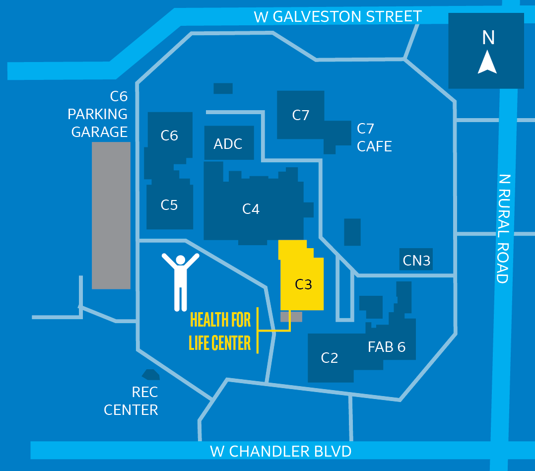Oc Campus Map.Locations Intel Health For Life Centers