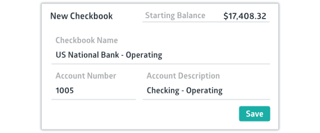 Crunched new checkbook creation window