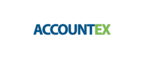Accounting technology conference Accountex logo