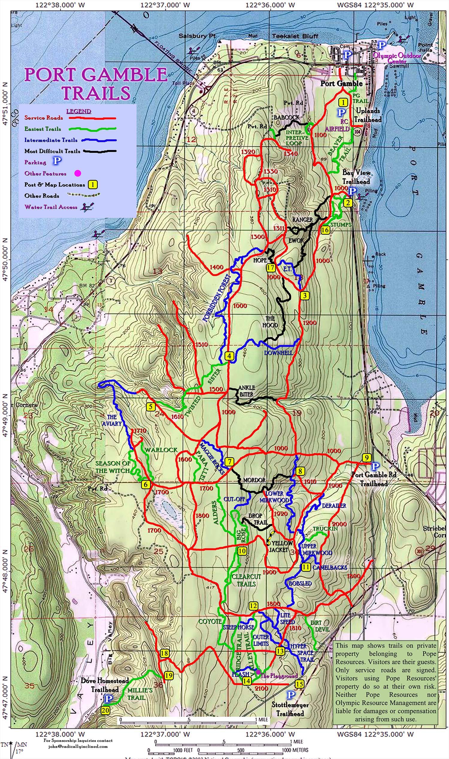 Maps — Kitsap Adventure Outdoor Sports