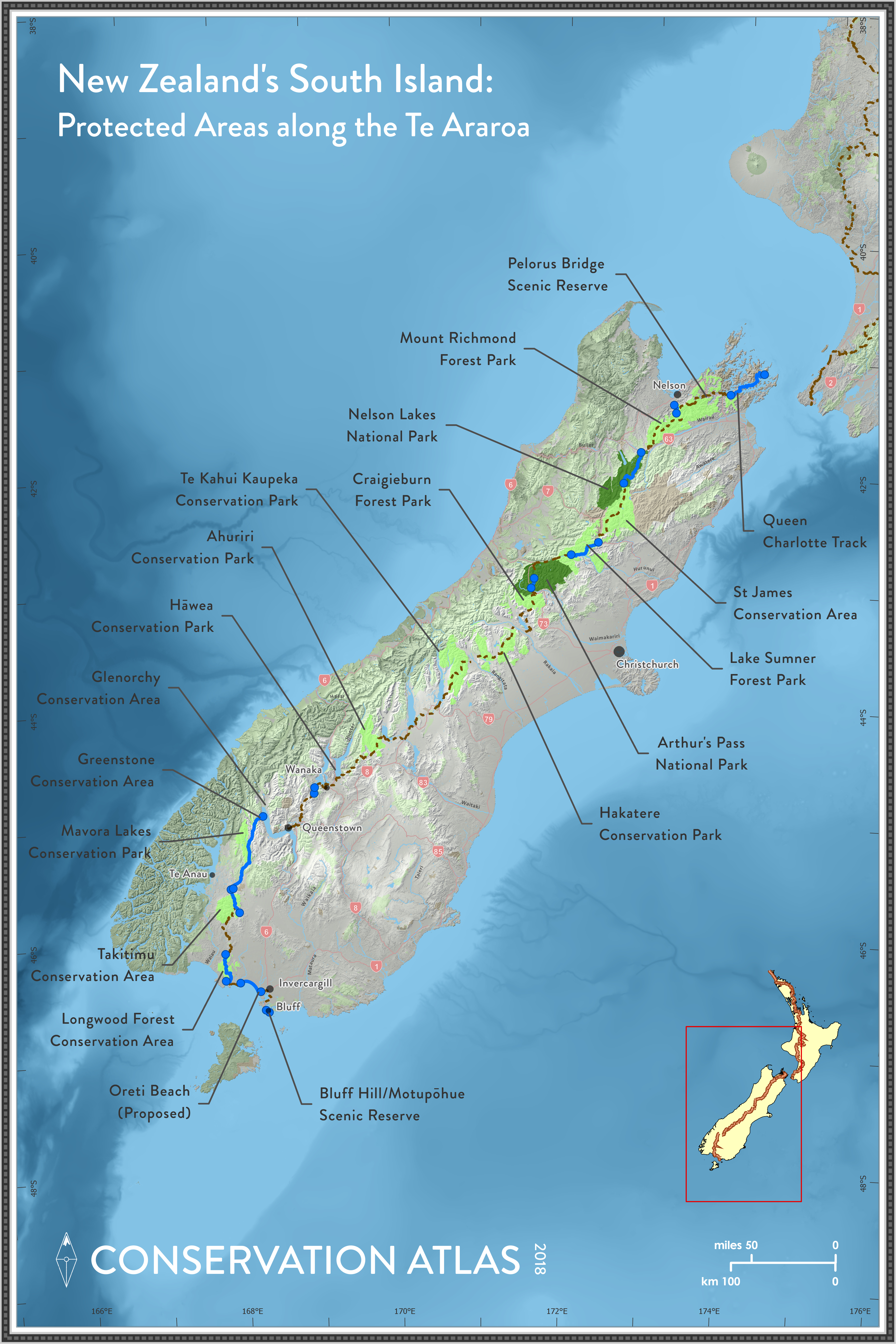 NEW ZEALAND'S TE ARAROA: Hiking to Connect Conservation ... on