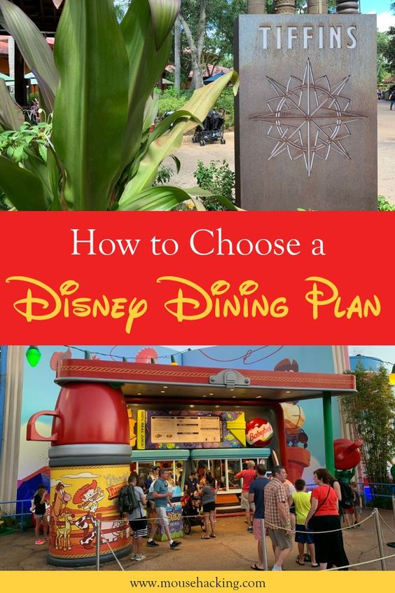 Learn everything you need to know about Disney Dining Plans!