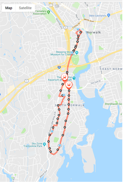 Norwalk, CT — Norwalk Transit District on map of ct county, map of ct zip code, map of connecticut districts, map of ct roads,