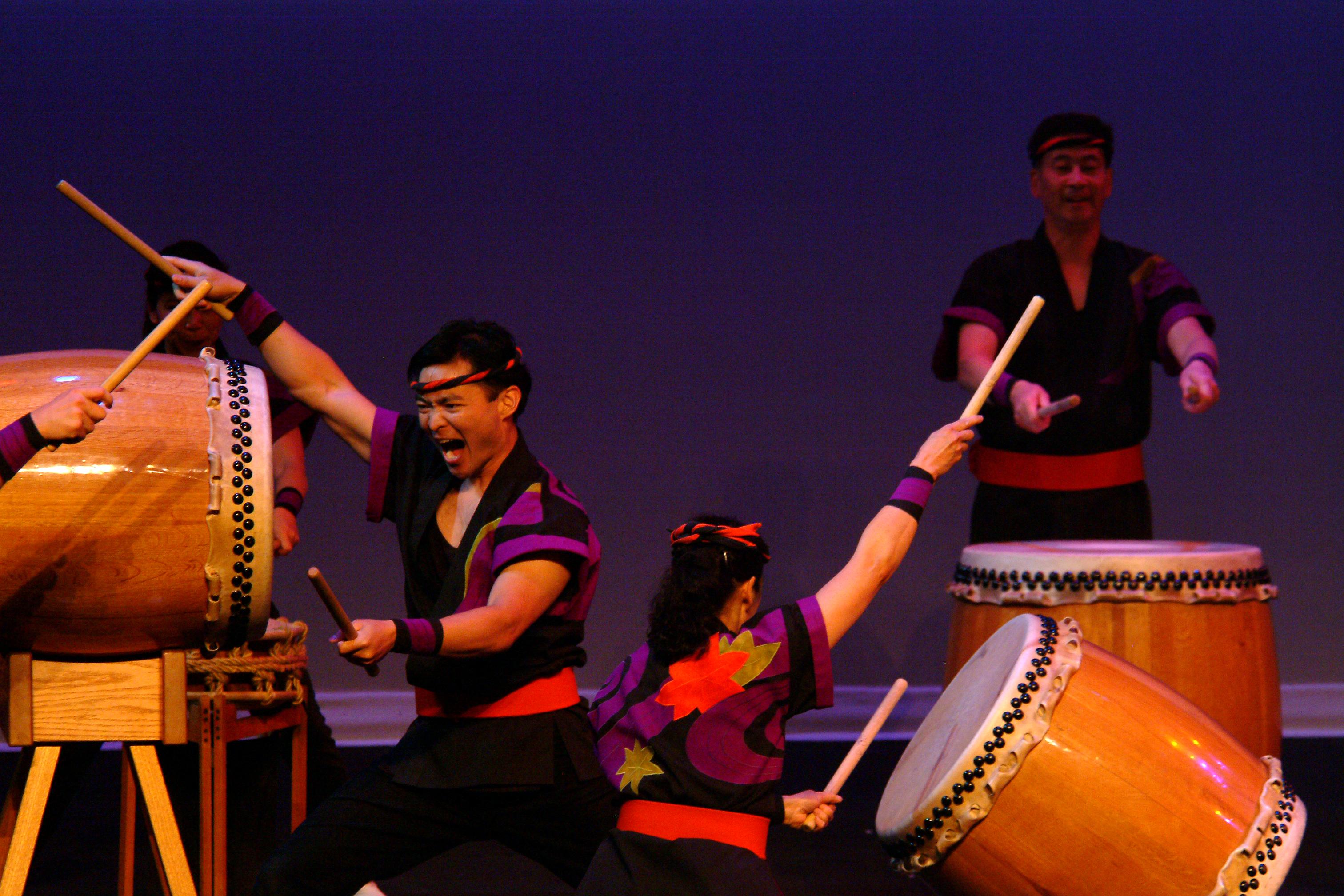 SVR: San Jose Taiko: Interactive Movement and Performance