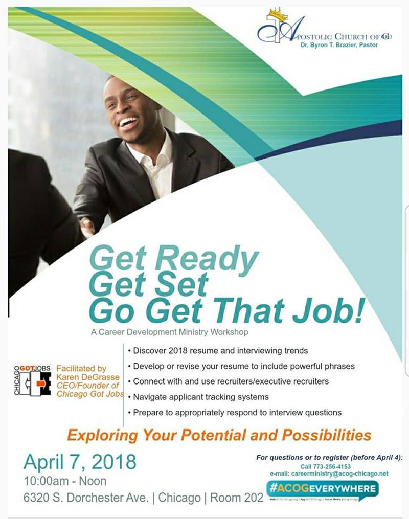 Resume Workshop — Building a Better 7th Together